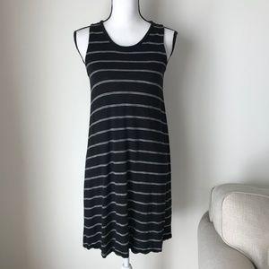 Madewell Stripe Black & White Dress